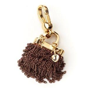 Juicy Couture Brown Gold Chain Handbag Purse Charm